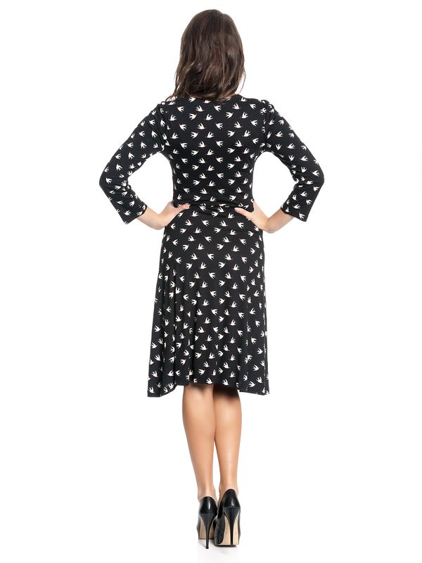 Vive Maria Lovely Birds 3/4 sleeve Dress black – Bild 4