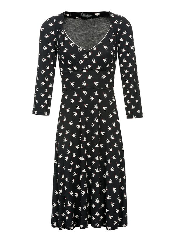 Vive Maria Lovely Birds 3/4 sleeve Dress black – Bild 1