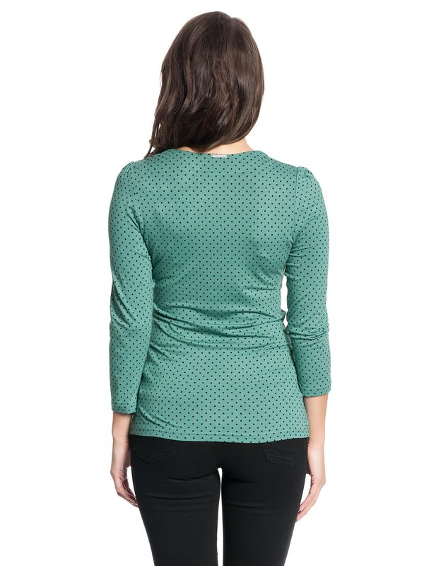 Vive Maria American Beauty 3/4 sleeve Shirt green – Bild 3