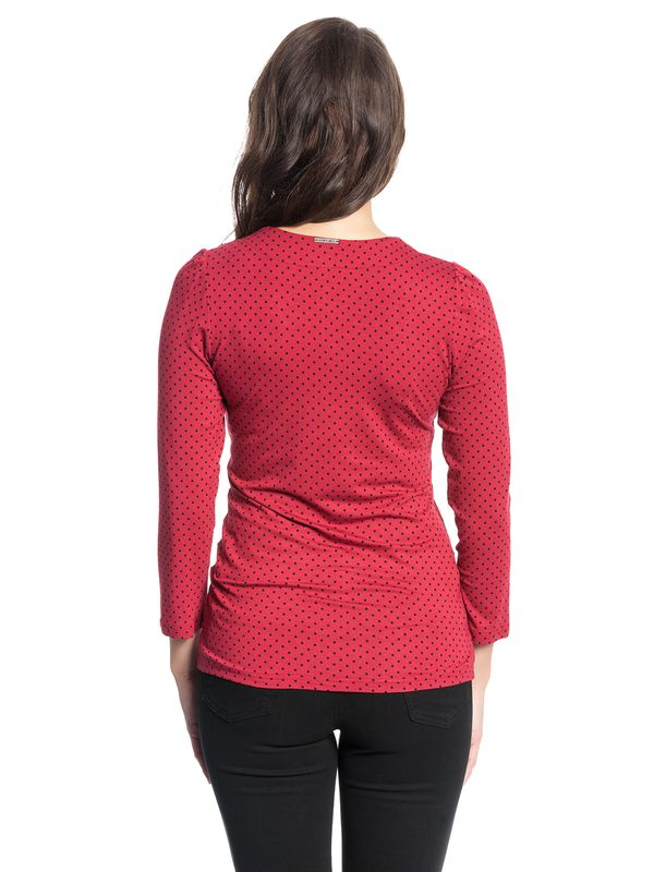 Vive Maria American Beauty 3/4 sleeve Shirt red – Bild 3