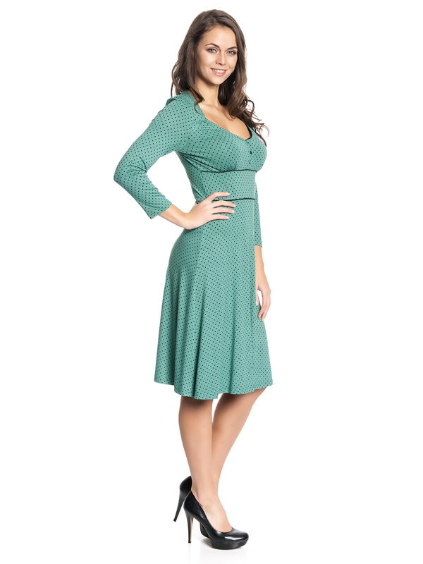 Vive Maria American Beauty 3/4 sleeve Dress green – Bild 2