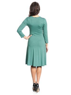 Vive Maria American Beauty 3/4-Arm Kleid grün – Bild 3