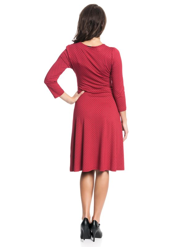 Vive Maria American Beauty 3/4-Arm Kleid rot  – Bild 4