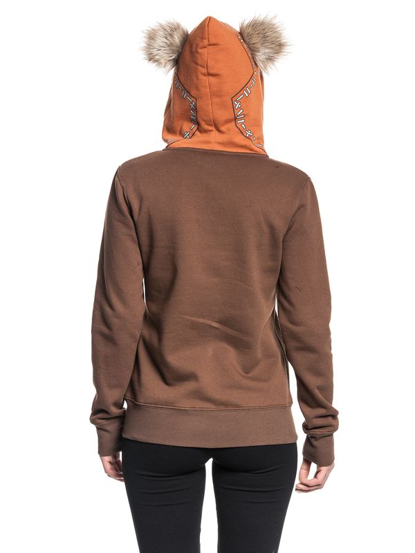 Star Wars Ewok Zip-Hooded Jacket female brown – Bild 4