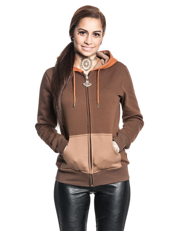 Star Wars Ewok Zip-Hooded Jacket female brown – Bild 2