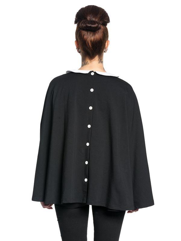 Pussy Deluxe Collar Poncho schwarz – Bild 4