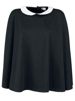 Pussy Deluxe Collar Poncho schwarz – Bild 0