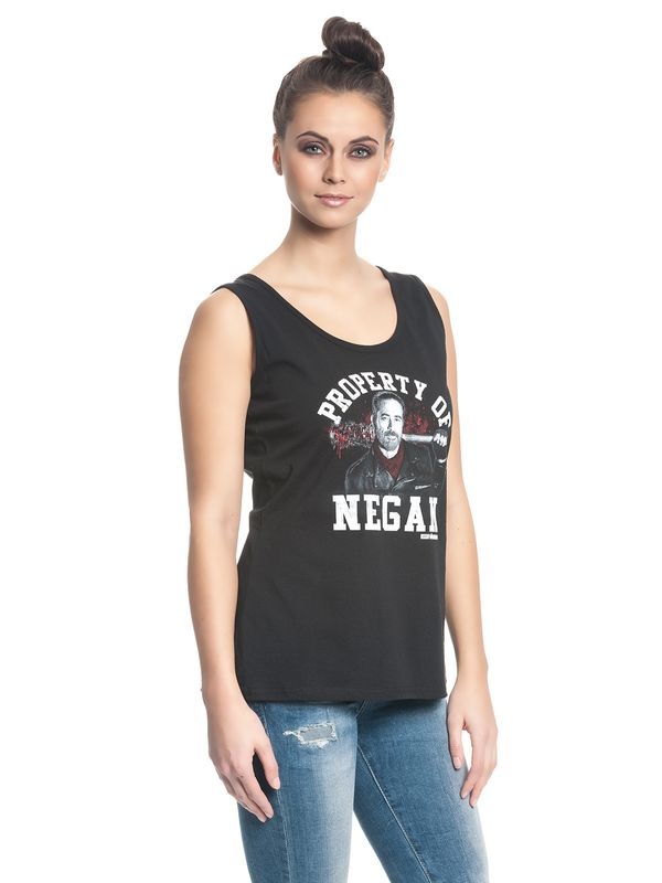 The Walking Dead Property of Negan Girl Top black – Bild 1