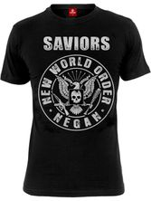 The Walking Dead Saviors New World Order Männer T-Shirt schwarz – Bild 0