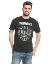 The Walking Dead Saviors New World Order T-Shirt black – Bild 1