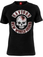 The Walking Dead Saviors NWO Herren T-Shirt schwarz – Bild 0