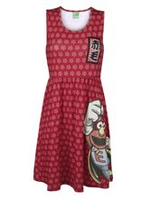 Sesame Street Elmo Japan Dress red allover – Bild 0