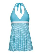 Pussy Deluxe Candy Love Triangle Swimsuit women lightblue – Bild 0