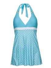 Pussy Deluxe Candy Love Triangle Swimsuit women lightblue – Bild 0