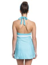 Pussy Deluxe Candy Love Triangle Swimsuit women lightblue – Bild 3