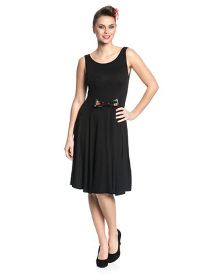 Pussy Deluxe Hawaii Smart Dress Kleid schwarz – Bild 1