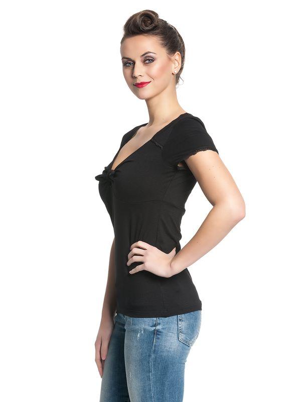 Pussy Deluxe Loop Chic Shirt black – Bild 2