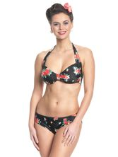 Pussy Deluxe Hawaii Bikini for women Black Allover – Bild 1