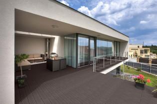 WPC Terrassendielen dunkelbraun 22m² (2,20 m) – Bild 2