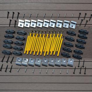 WPC Terrassendielen dunkelbraun 22m² (2,20 m) – Bild 7