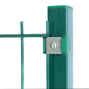 Doppelstabmattenzaun grün 1230 mm - Alle Varianten (16/3) – Bild 4