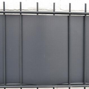 PVC Sichtschutz Zaunfolie hellgrau – Bild 4