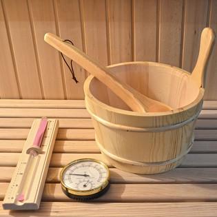 Saunazubehör 5 tlg. (H) – Bild 3