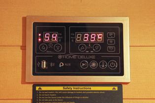 Infrarotsauna Redsun L Deluxe inkl. Montageservice – Bild 10