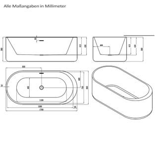 Bola Plus - Freistehender Whirlpool inkl. Montageservice – Bild 8