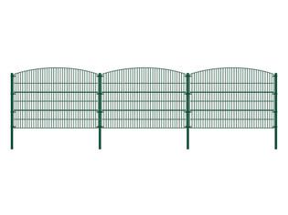 Doppelstabmattenzaun BERG grün - Alle Varianten – Bild 7