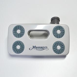 Fußmassage V1 Pearl für alle Duschen – Bild 2