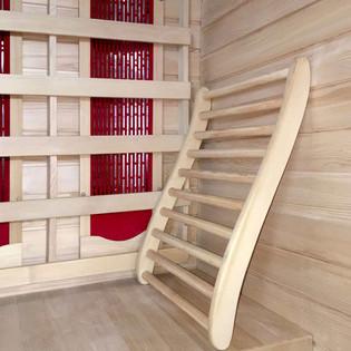 Sauna Rückenlehne  – Bild 1