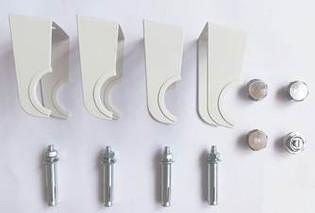 Design Heizkörper Flare einlagig weiss 1800 x 640 x 50 (8 Paneele) – Bild 5