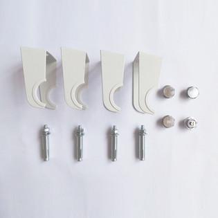 Design Heizkörper Ember doppellagig weiss 1800 x 472 x 85 (8 Paneele) – Bild 4