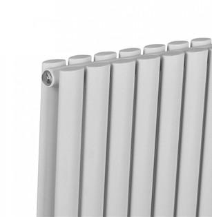Design Heizkörper Ember doppellagig weiss 1800 x 588 x 85 (10 Paneele) – Bild 3