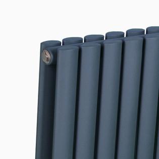 Design Heizkörper Ember doppellagig anthrazit 1800 x 588 x 85 (10 Paneele) – Bild 4