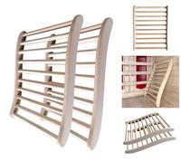 Sauna Rückenlehne - 2 Stück