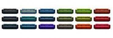 Swell Sofa 3 Sitzer Stoff Gabriel Medley oder Gabriel Breeze Fushion – Bild 9