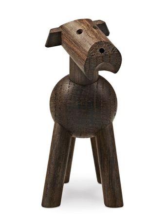 Hund Tim Kay Bojesen dunkles Holz – Bild 2