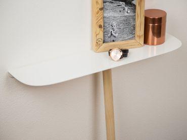 Please Tisch Konsolen-Tisch lang Eiche – Bild 3