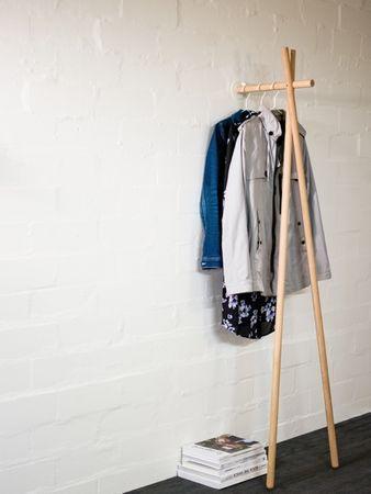 Lenah Garderobe Eiche natur  – Bild 1
