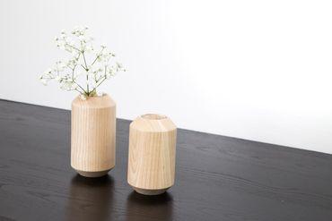 TAKKS Vasen 2er Set Esche natur – Bild 2