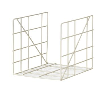 Magazine Holder Square grau