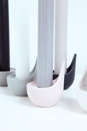 KAARS Kerzenständer mattes stone Keramik – Bild 4