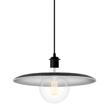 VITA Shade Felt Lampenschirm grau weiß Filz – Bild 4