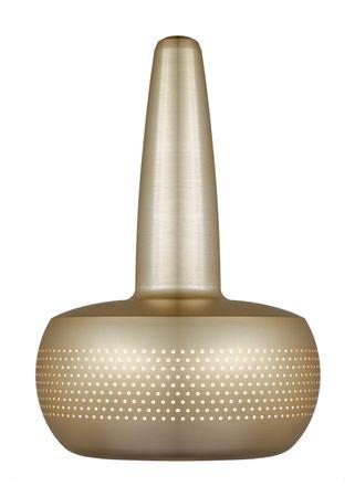 NEU VITA Clava Lampenschirm gebürstetes Messing V2 – Bild 1
