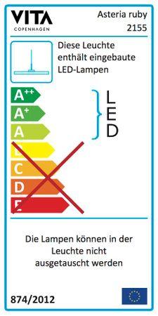 UMAGE Asteria ruby LED Lampe 2m – Bild 4