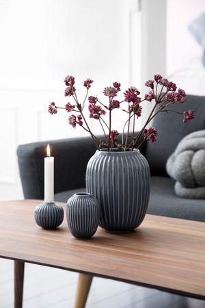 Hammershoi Vase, anthrazit 20 cm – Bild 3