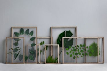 Rahmen Frame A5 Eiche Natur - durchgehend transparent – Bild 4