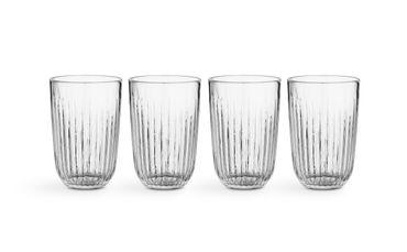 Kähler Hammershoi Trinkglas klar 4er Set – Bild 3